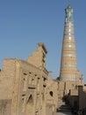 Khiva Minaret Royalty Free Stock Photo