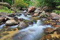 Khlong lan waterfall at kamphaeng phet province of thailand Royalty Free Stock Photography