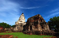 Khmer sanctuary prasat panomrung is the which is in the nakornrachasima province thailand Royalty Free Stock Photos
