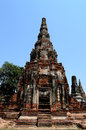 Khmer tower temple in thailand Royalty Free Stock Image