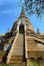 Khmer tower temple in thailand Stock Photos