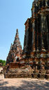 Khmer tower temple in thailand Stock Image