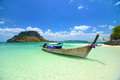 Kho poda in krabi thailand tropical beach Royalty Free Stock Images