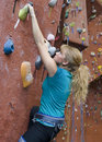 Khole Rock Climbing Series A 15 Royalty Free Stock Photos