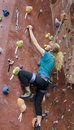 Khole Rock Climbing Series A 18 Stock Images