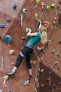 Khole Rock Climbing Series A 20 Stock Image