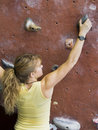 Khole Rock Climbing Series A 47 Stock Image
