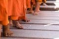 thajsko 28 je z buddhismus dát jídlo nabídky na buddhistické mnich v