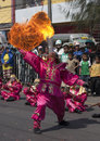 Khon kaen thailand st nov a fire eater performs at a local f festival in north eastern on november Stock Image