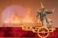 Khon, Traditional Thai dance drama Royalty Free Stock Photo