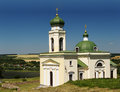 Khotyn church historical orthodox christian in fortress Stock Photos