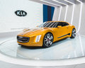 Kia gt stinger concept detroit mi usa january a car at the north american international auto show naias on january in detroit Stock Image