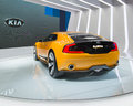 Kia gt stinger concept detroit mi usa january a car at the north american international auto show naias on january in detroit Stock Images
