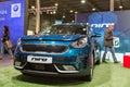Kia Niro hybrid car booth, Kiev Plug-in Ukraine 2017 Exhibition.
