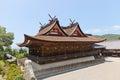 Kibitsu Shinto Shrine (1425) in Okayama, Japan Royalty Free Stock Photo