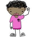 Kid cartoon 08 Royalty Free Stock Photos