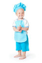 The kid chef Royalty Free Stock Image