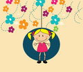 Kid design kids over white background vector illustration Stock Photo