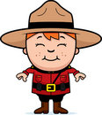 Kid Mountie Royalty Free Stock Images