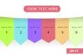 Kid pastel color tone presentation chart info graphic background