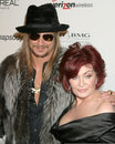 Kid Rock,Sharon Osbourne Stock Photos