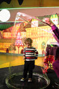 Kid in the soapbubble Royalty Free Stock Photo