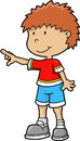 Kid Vector Illustration Stock Photo