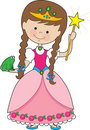 Kiddle Princess Royalty Free Stock Photo