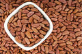 Kidney beans or red beans background Stock Images