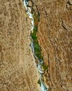 Kidron River as seen from the Mar Saba Monestary Royalty Free Stock Photo