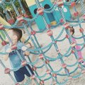 Kids afternoon playtime asian Stock Image