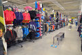 Kids apparel store timisoara romania may th department of decathlon timisoara romania shot taken on may th Stock Images