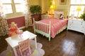 Kids bedroom 1810 Stock Photography