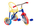 Kids bicycle on white background Royalty Free Stock Photography
