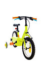 Kids bike small for on white background Stock Photos