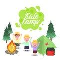 Kids Camp illustration