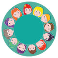 Kids Cup Pad Royalty Free Stock Photo