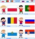 Kids & Flags - Europe [6]