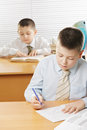Kids having classes Royalty Free Stock Photo