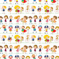 A kids illustration of on white background Royalty Free Stock Images