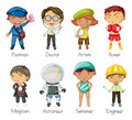 A kids illustration of on white background Royalty Free Stock Photography
