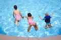 Saltare piscina