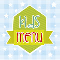 Kids menu Stock Images