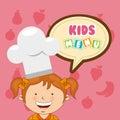 Kids menu Royalty Free Stock Photo