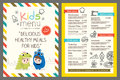 Kids menu vector template Royalty Free Stock Photo