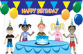 Kids Party 1 Royalty Free Stock Photography
