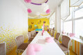 Kids room in cafe anderson moscow august near sokol metro station on august moscow russia average check is Royalty Free Stock Photography