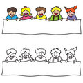 Kids sign Royalty Free Stock Photo