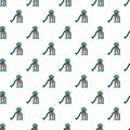 Kids slide pattern seamless
