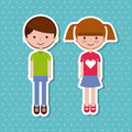 Kids sticker design